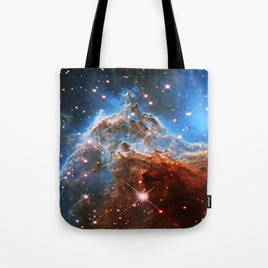 Monkey Head Nebula Tote Bag