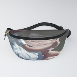 Woman Reading By The Lake (Vintage) Fanny Pack