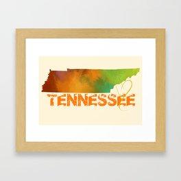 Tennessee Love Framed Art Print