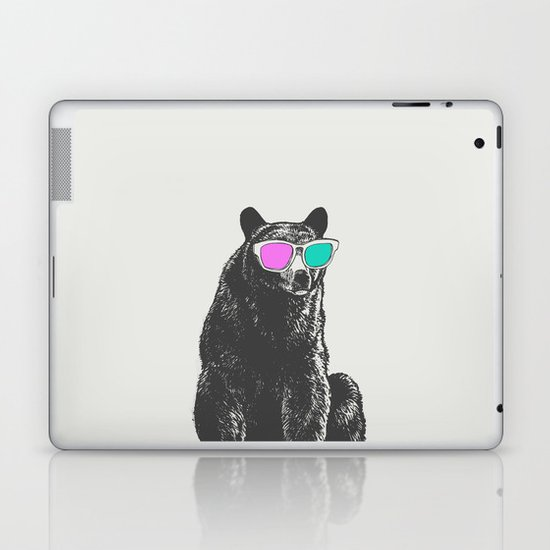 3D is Un-bear-able  Laptop & iPad Skin