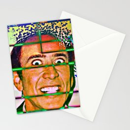 Nicolas caged Stationery Cards