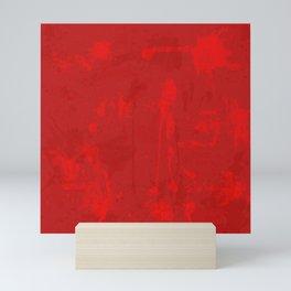 Red riot Mini Art Print