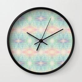 Soft digital pattern Wall Clock
