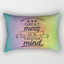 Creative Mind Rectangular Pillow