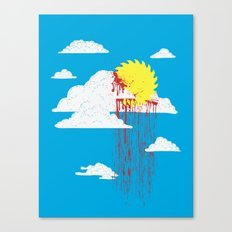 From a Lacerated Sky Canvas Print