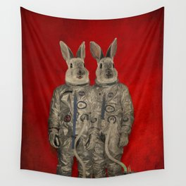We are ready Wall Tapestry