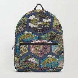 Hexcrawl Mosaic Backpack
