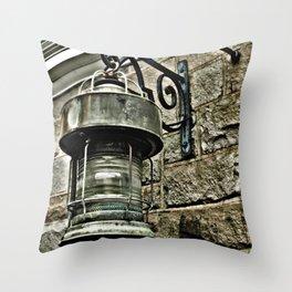 Lantern Photography Throw Pillow