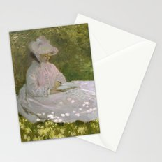 Springtime by Claude Monet Stationery Cards