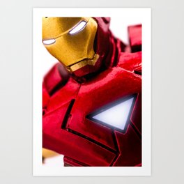 Iron Man Mark VI Armour Art Print