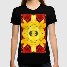 """A Gathering of Lilies"" Remix - 1 (3-1) [D4465~12] T-shirt"
