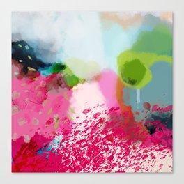 pink landscape Canvas Print