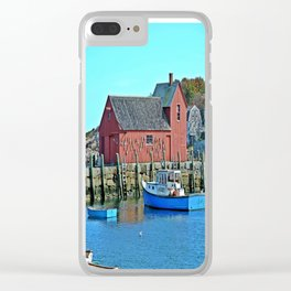 Motif Number One Clear iPhone Case