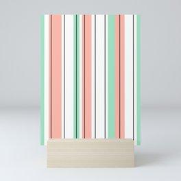 stripes pattern Mini Art Print