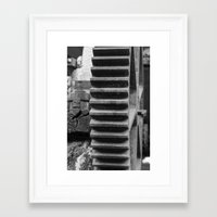 gears of war Framed Art Prints featuring Gears by vdell