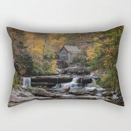 Glade Creek Grist Mill Rectangular Pillow