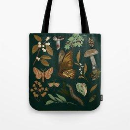 Green Natural Explorer Tote Bag