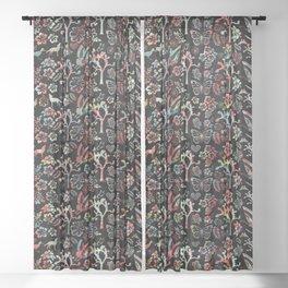 Joshua Tree Tropical by CREYES Sheer Curtain