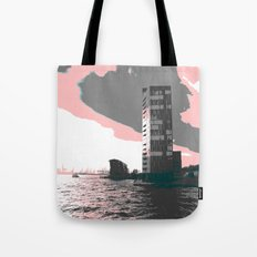 hamburg harbour Tote Bag