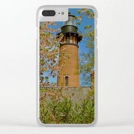 Currituck Beach Lighthouse Clear iPhone Case