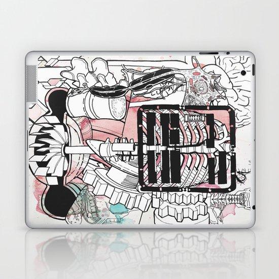 Broken Parts Laptop & iPad Skin