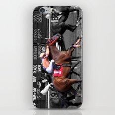 Race horses iPhone & iPod Skin