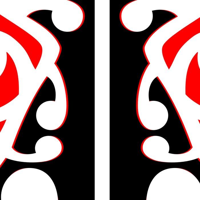 Maori Kowhaiwhai Traditional Pattern Leggings