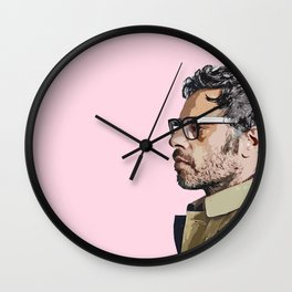 Jemaine Clement 5 Wall Clock