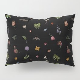 Nocturnal Floral Pillow Sham