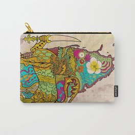 Abstract SL Carry-All Pouch