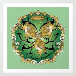 My Empire Collection Summer Set mint green Art Print