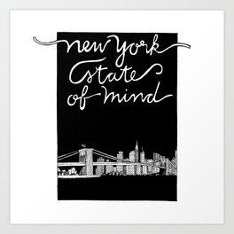 New York State of Mind Art Print