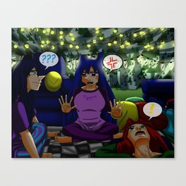 Ghost Stories for Christmas Canvas Print