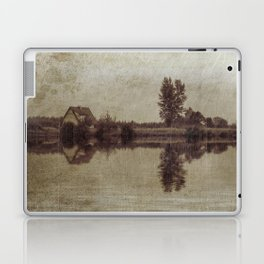 The old house on the lake Laptop & iPad Skin