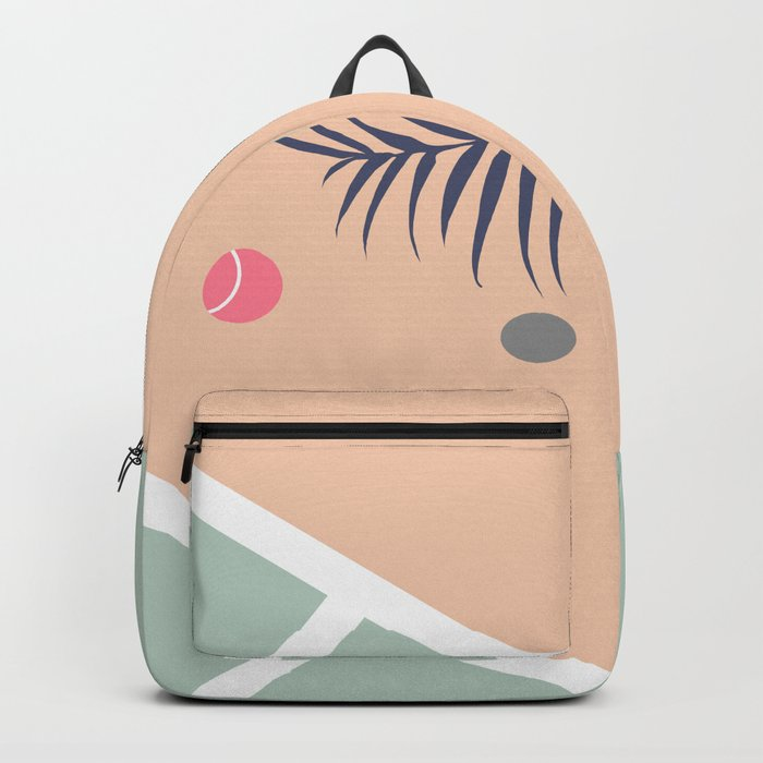 Tennis Court #society6 #decor #buyart Backpack