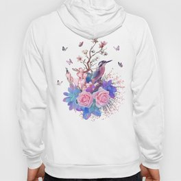 FLORAL ALCEDO ATTHIS Hoody