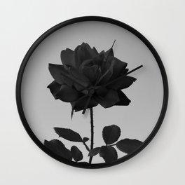-Vibrant Darkness Wall Clock