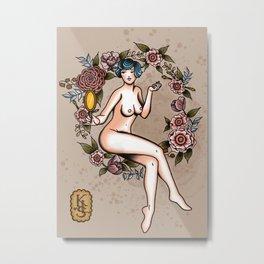 Nips Metal Print