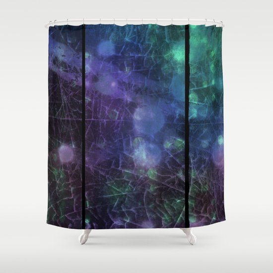 Purple Green And Blue Shower Curtain By Minx267 Society6