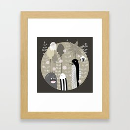 Japanese Fairy Tale \\ Piece 3 Framed Art Print