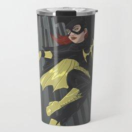A swinging batgirl Travel Mug