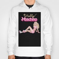 moschino Hoodies featuring MOSCHINO SKATER BARBIE by RickyRicardo787