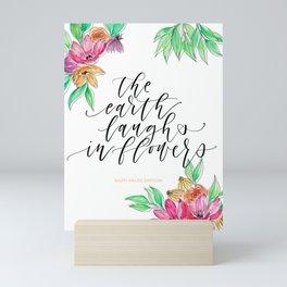 The Earth Laughs in Flower Mini Art Print