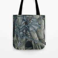 hunting Tote Bags featuring Hunting by GLR67