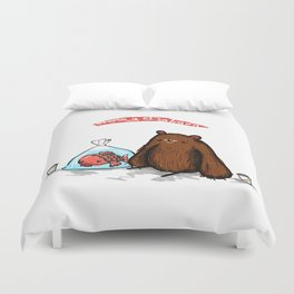 Strange Love Duvet Cover
