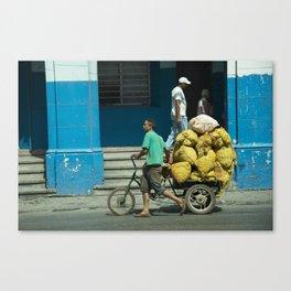 Man Trike  Canvas Print