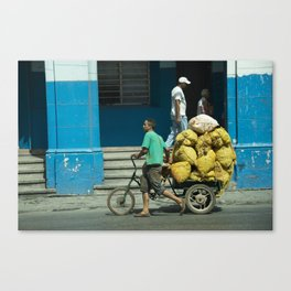 Man Trike  Canvas Print