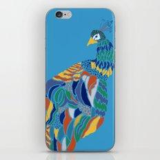 Pavo Cristatus iPhone & iPod Skin