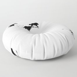 snowblinded // (wolf pack) Floor Pillow
