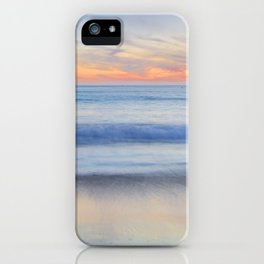 Magical Waves at sunset. Square. Tarifa Beach iPhone Case